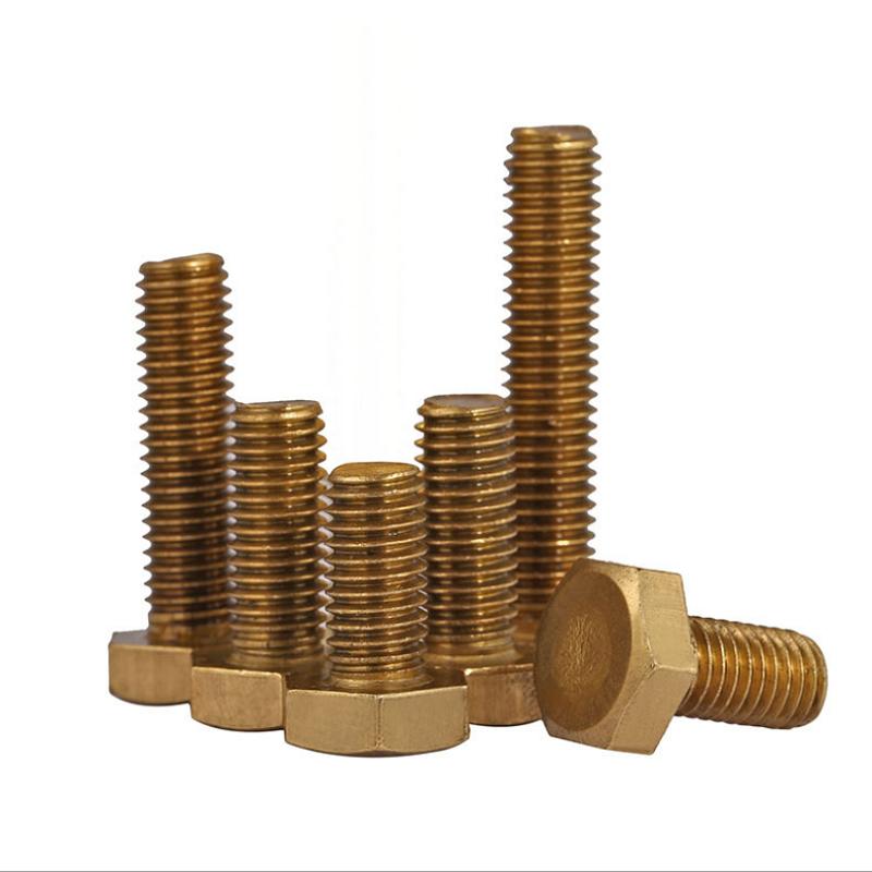 黄铜外六角螺丝 (2)
