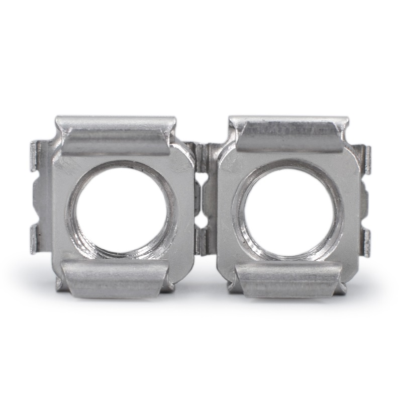 M4-M8 Grade 4.8 Nickel Plated Cage Nuts