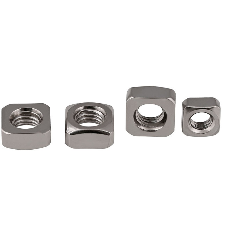 M4-M10 201 Stainless Steel Square Nuts