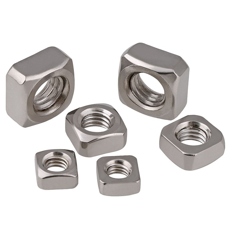 M3-M10 316 Stainless Steel Square Nuts