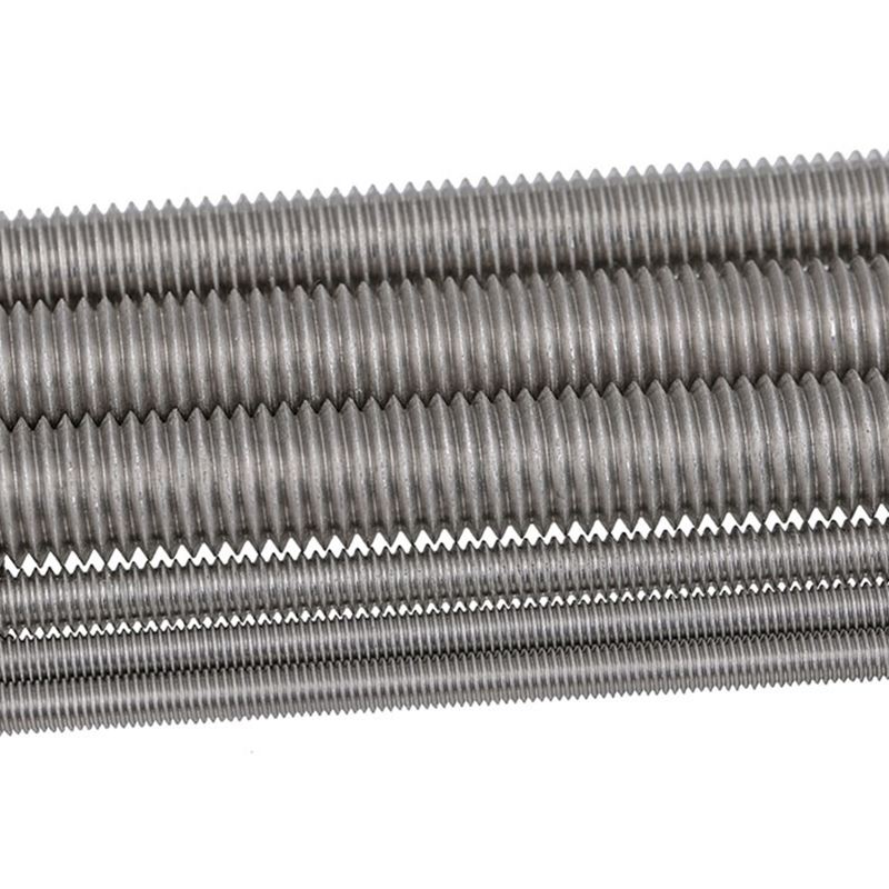 M4-M24 Left-Hand Threaded 304 Stainless Steel Threaded Rods