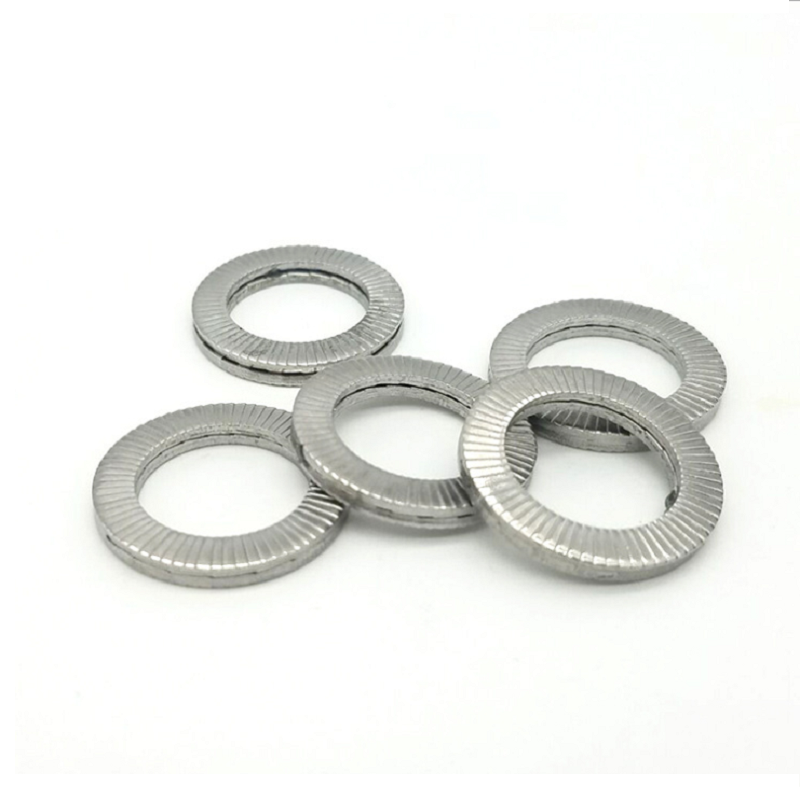 M3-M20 304 Stainless Steel Wedge Lock Washers