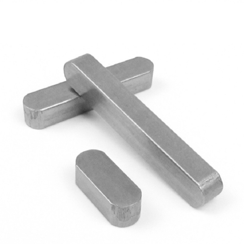M12 304 Stainless Steel Rounded Machine Keys