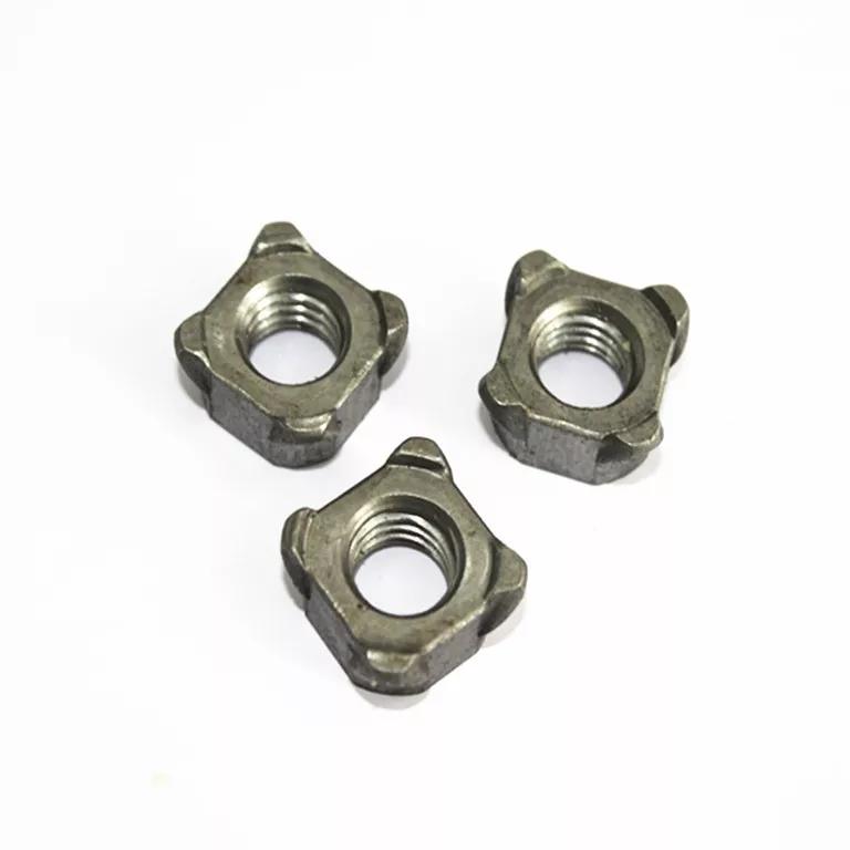 M4-M8 Grade 4.8 Alloy Steel Square Weld Nuts