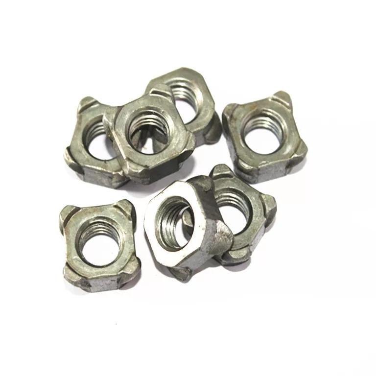 碳钢四方焊接螺母 (2)