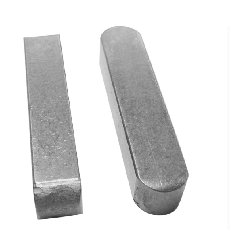 Grade 4.8 M24 Alloy Steel Rounded Machine Keys