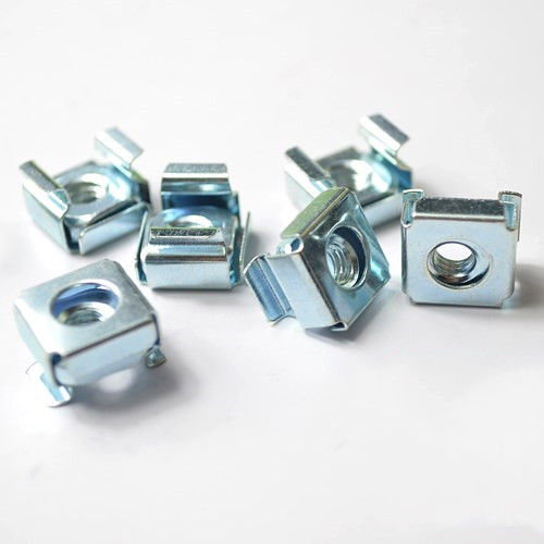 M4-M8 Grade 4.8 Blue White Zinc Plated Cage Nuts