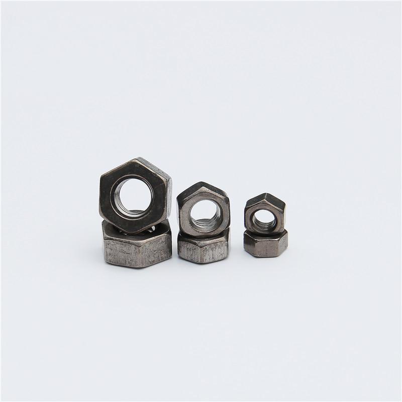 M4-M27 Titanium Hex Nuts