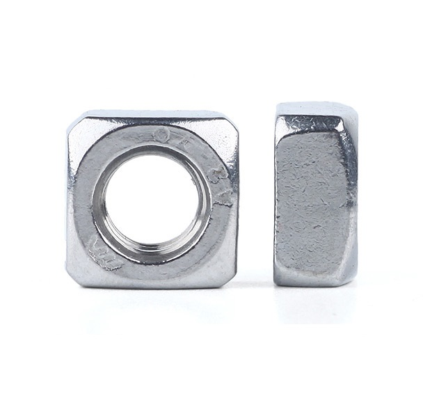 M3-M6 Grade 4.8 Zinc Plated Square Nuts