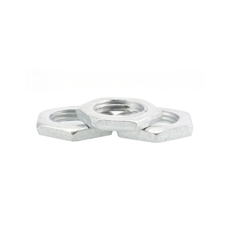 M8-M24 Fine-Thread Zinc Plated Thin Hex Nuts