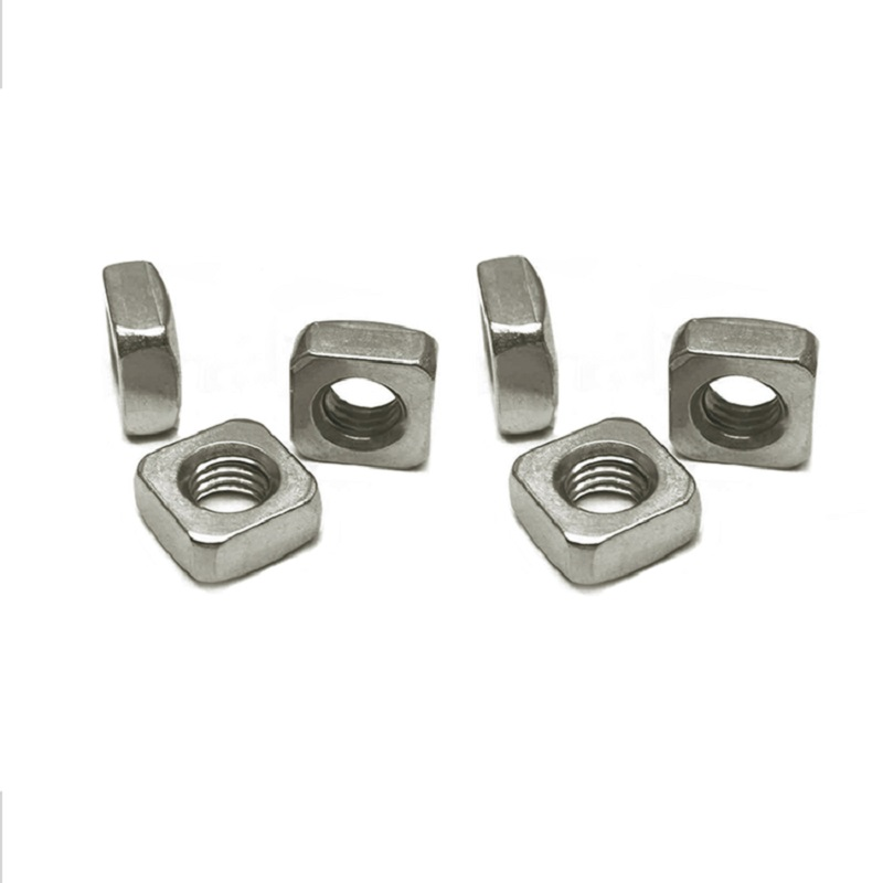 M3-M8 Grade 12.9 Nickel Plated Square Nuts