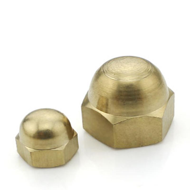 M3-M20 Brass Cap Nuts
