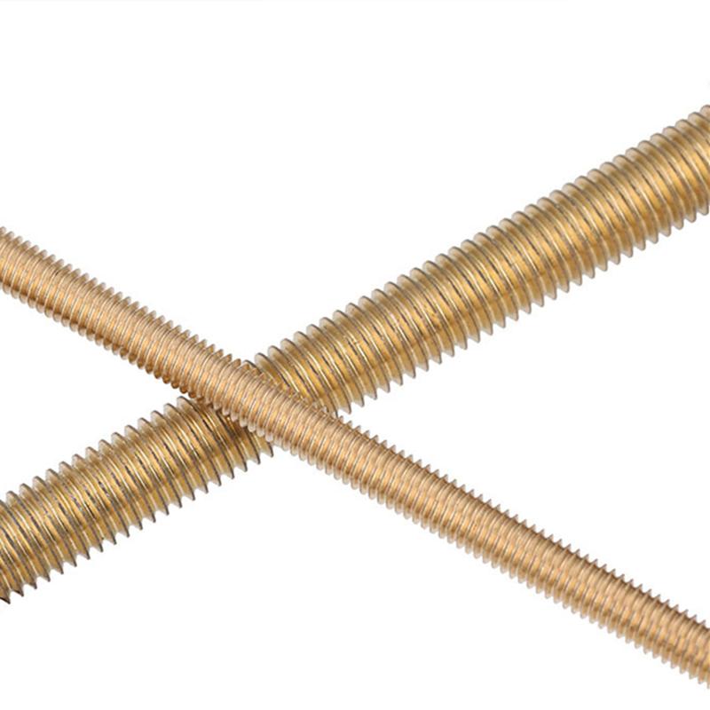 M2-M20 Brass Threaded Rods