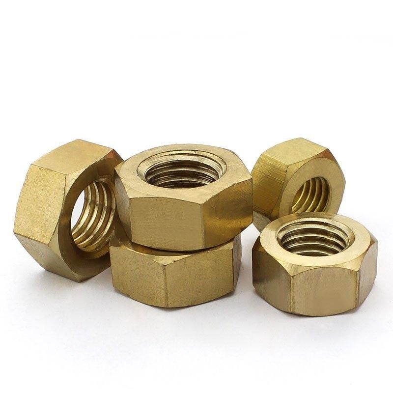M1.4-M24 Brass Hex Nuts