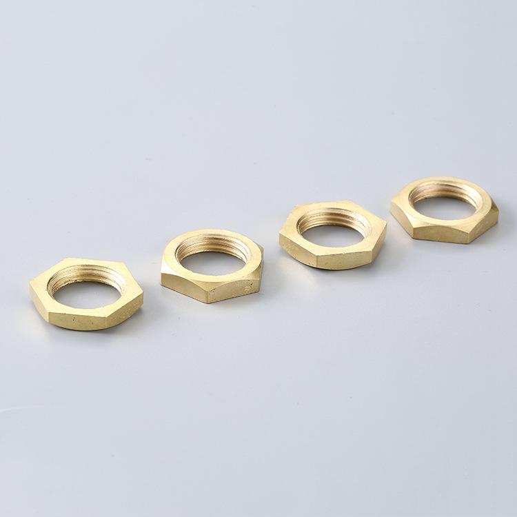 M3-M20 Brass Thin Hex Nuts