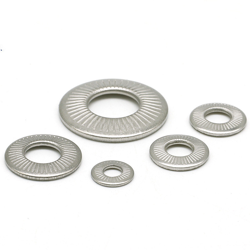 M3-M16 304 Stainless Steel One Face Belleville Spring Lock Washers