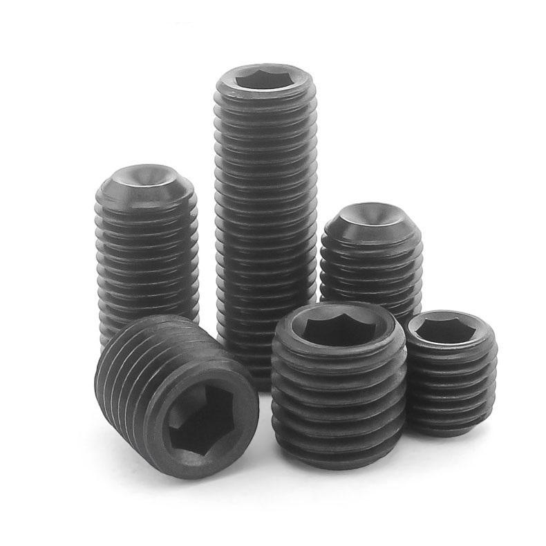 M4 Black 304 Stainless Steel Cup-Point Set Screws