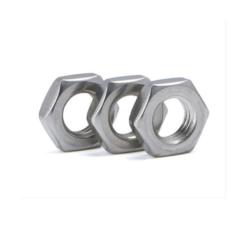 M4-M36 304 Stainless Steel Thin Hex Nuts
