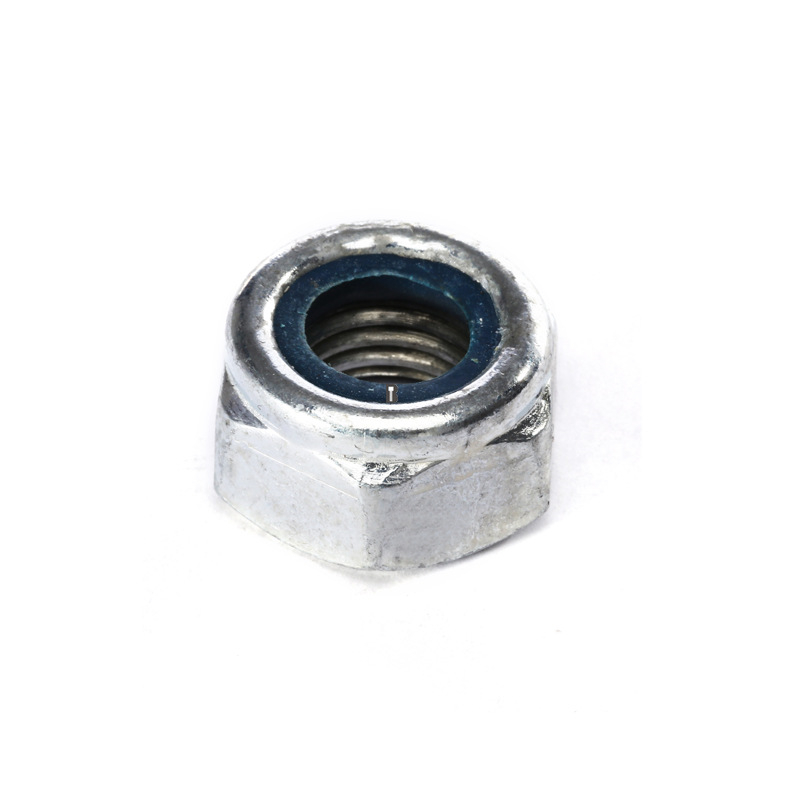 M2-M8 Grade4.8 Nickel Plated Nylon-Insert Locknuts