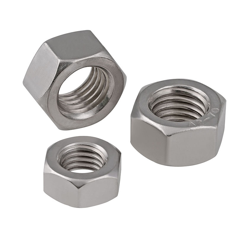 M3-M16 201 Stainless Steel Hex Nuts