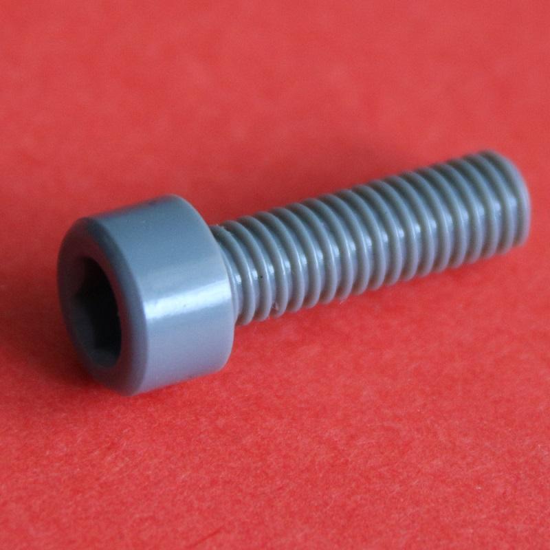 PVC杯头内六角螺丝 (2)